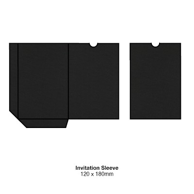 Gmund Colors 120x180 Sleeve 350gsm Black-10