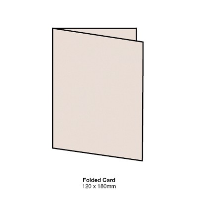 Heirloom 120x180 Folded Card 300gsm Rudi Nudi