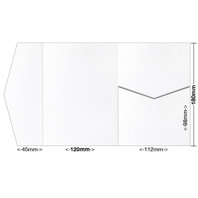 Versa Linen 120x180 Pocket Style A 216gsm Brilliant White
