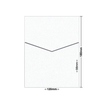 Glamour Puss 120x180 Pocket Style D 250gsm Diamond White
