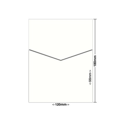 Curious Metallic 120x180 Pocket Style D 250gsm Cryogen White