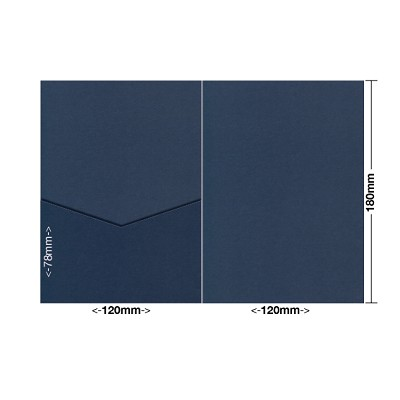 Eco Grande 120x180 Pocket Style E 308gsm Navy