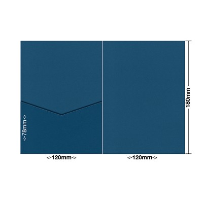 Bloom 120x180 Pocket Style E 270gsm China Blue