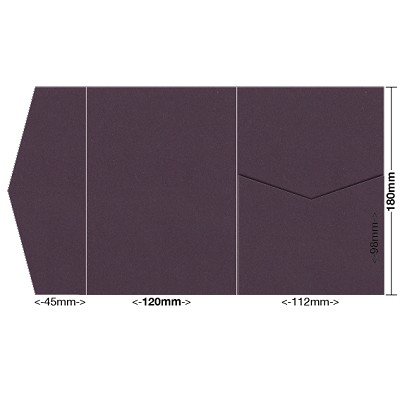 Eco Grande 120x180 Pocket Style A 308gsm Mulberry