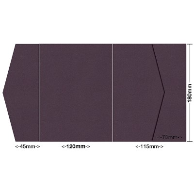 Eco Grande 120x180 Pocket Style B 308gsm Mulberry