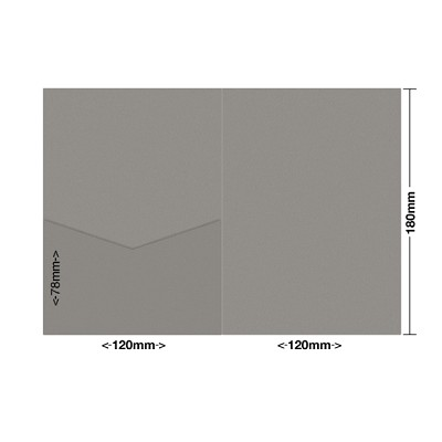 Gmund Colors 120x180 Pocket Style E 300gsm Pewter-93