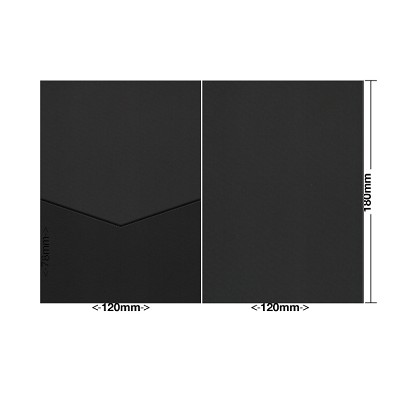 Gmund Colors 120x180 Pocket Style E 350gsm Black-10