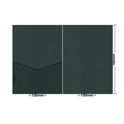 Gmund Colors 120x180 Pocket Style E 300gsm Hunter Green-60