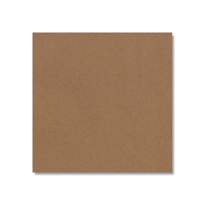Buffalo Board 12x12 Card 386gsm Natural Brown
