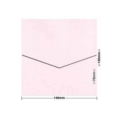 Coco Linen 140x140 Pocket Style D 170gsm Petite Pink