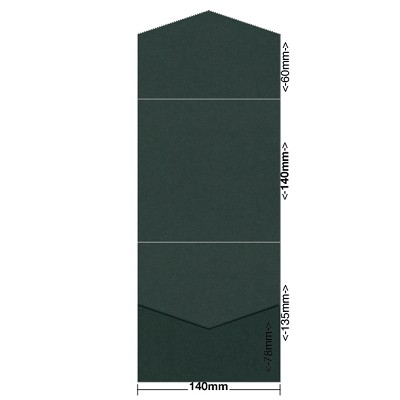 Gmund Colors 140x140 Pocket Style B 300gsm Hunter Green-60