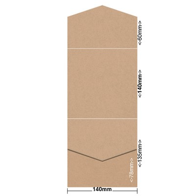 Gmund Colors 140x140 Pocket Style B 300gsm Latte-12