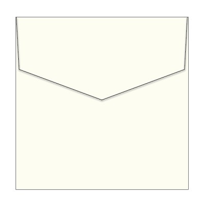 Via Vellum 150x150 iflap Envelope 118gsm Warm White <br> <span class=sale>On Sale</span>