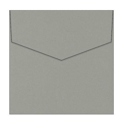 Eco Luxury 150x150 iflap Envelope 120gsm Iron Bark <br> <span class=sale>On Sale</span>