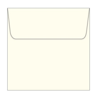 Marshmallow 150x150 Wallet Flap Envelope 105gsm Warm Ivory <br> <span class=sale>On Sale</span>