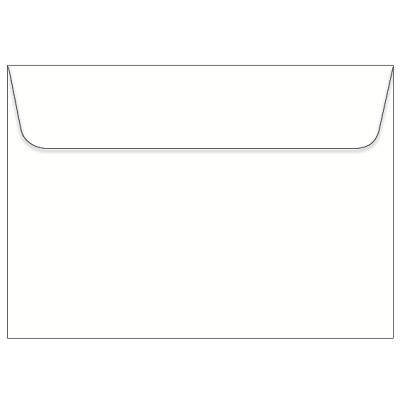 Via Vellum C5 Wallet Flap Envelope 118gsm Bright White