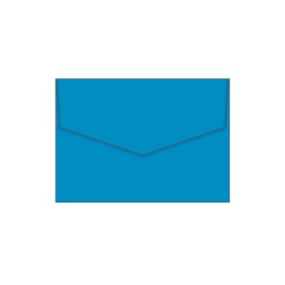 Bloom C6 iflap Envelope 120gsm Cyan