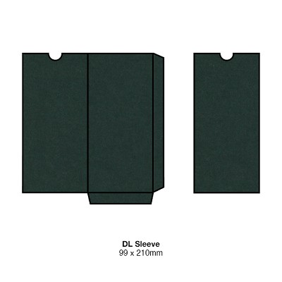 Gmund Colors DL Sleeve 300gsm Hunter Green-60