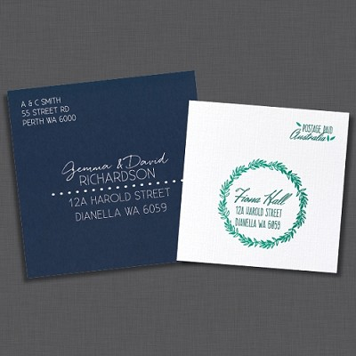 Custom Envelope Printing - SAMPLE