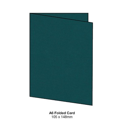 Gmund Colors A6 Folded Card 300gsm Sea Green-91