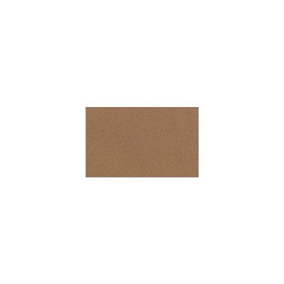 Buffalo Board 80x50mm Blank Flat Placecard/Tag 283gsm Natural Brown