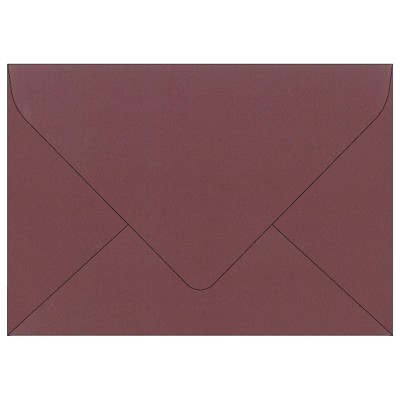 Woodland C5 Euro Flap Envelope 116gsm Oxblood