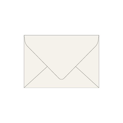 Neenah Cotton C6 Euro Flap Envelope 118gsm Pearl White