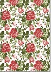 Designer Recycled A4 Paper 120gsm Antique Rose Red