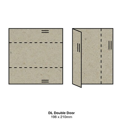 Botany DL Double Door 230gsm Naturaliste