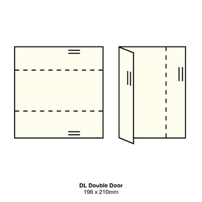 Marshmallow DL Double Door 261gsm Warm Ivory