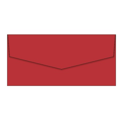 Bloom DL iflap Envelope 120gsm Jolly Red