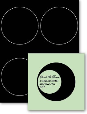 Eco Luxury 102mm Circle Label Midnight