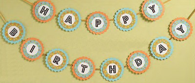 Happy Birthday Banner Kit - Limited Stock