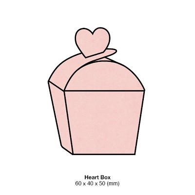 Gmund Colors Heart Box 300gsm Rosa-11