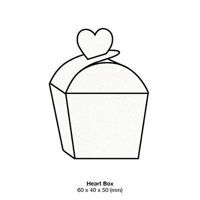 Glamour Puss Heart Box 250gsm Milk Bath