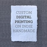 Single Sided Digital Printing - A3 Indie Handmade