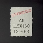 OVERSIZED A6 115x160mm - Indie Handmade Dover