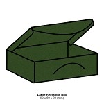 Eco Grande Large Rectangle Box 308gsm Forest