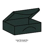 Gmund Colors Large Rectangle Box 300gsm Hunter Green-60