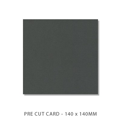 Alchemy 140x140 Pre Cut Card Pack 50 186gsm Cinder