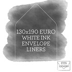 Printed White Ink Envelope Liner for 130x190 iflap Envelopes