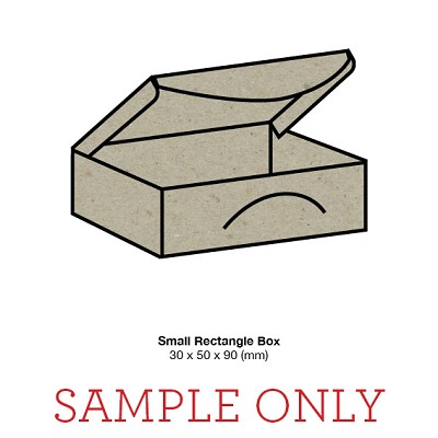 SAMPLE UNIT Small Rectangle Box