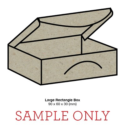 SAMPLE UNIT Large Rectangle Box