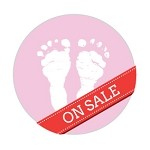 Ipaper Colour Seal Baby Feet Dusty Pink