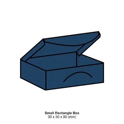 Gmund Colors Small Rectangle Box 300gsm Midnight Blue-59