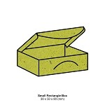 Gmund Bio Cycle Small Rectangle Box 300gsm Chlorophyll
