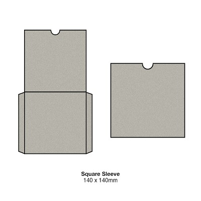 Gmund Colors 140x140 Square Sleeve 300gsm Cement-23