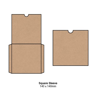 Gmund Colors 140x140 Square Sleeve 300gsm Latte-12