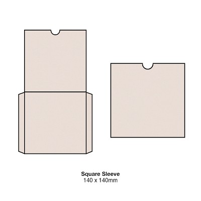 Heirloom 140x140 Square Sleeve 300gsm Rudi Nudi