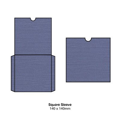 Zsa Zsa 140x140 Square Sleeve 198gsm Twilight
